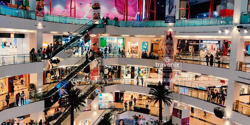 Infinity Mall Interior