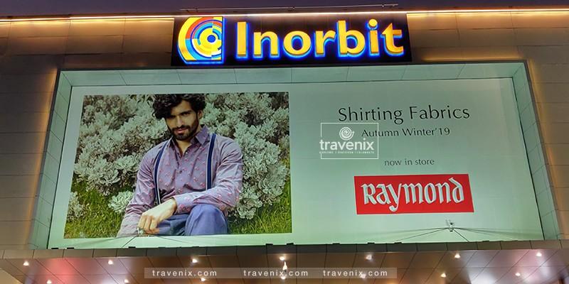 Inorbit Mall Entrance