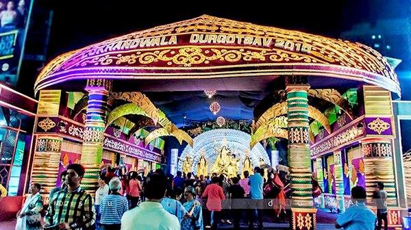 Lokhandwala Durga Pandal
