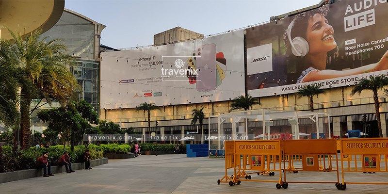 R City Mall Entrance