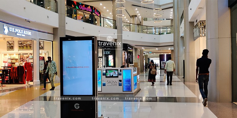 R City Mall Walkway