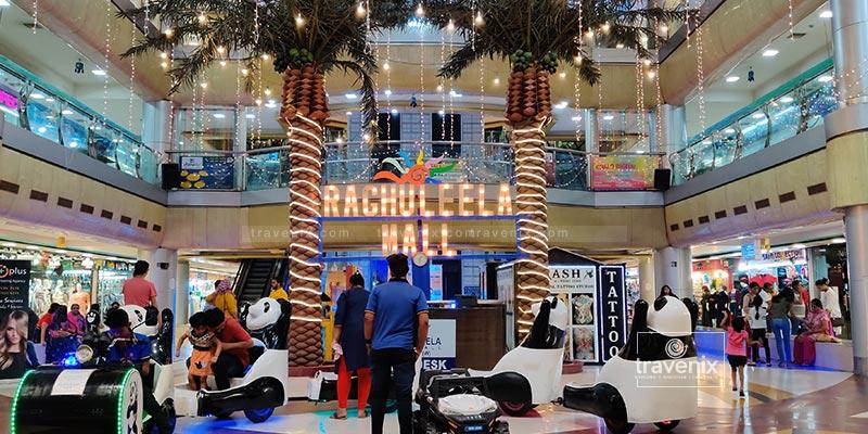 Raghuleela Mall Seating Area