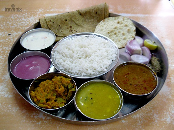BRB Lunch Home_Veg Thali