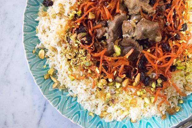 Afghani-biryani
