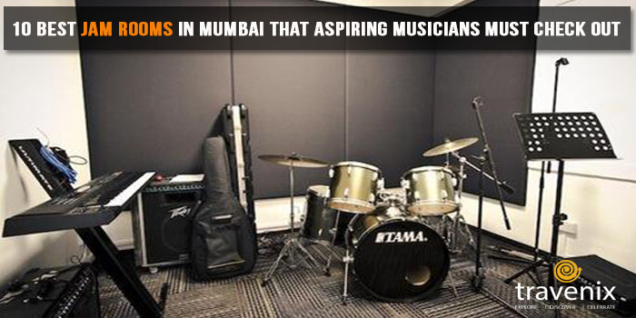 Top 10 Jam Rooms In Mumbai For A Professional Or Amateur Jam Session