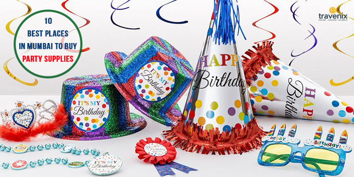 Top 10 Party Stores In Mumbai For Supplies And Decorations
