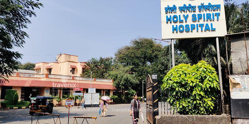 Holy Spirit Hospital Entrance