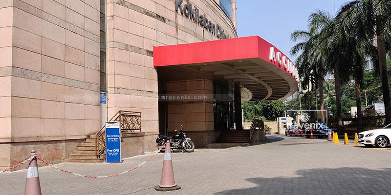 Kokilaben Dhirubhai Ambani Hospital Entrance