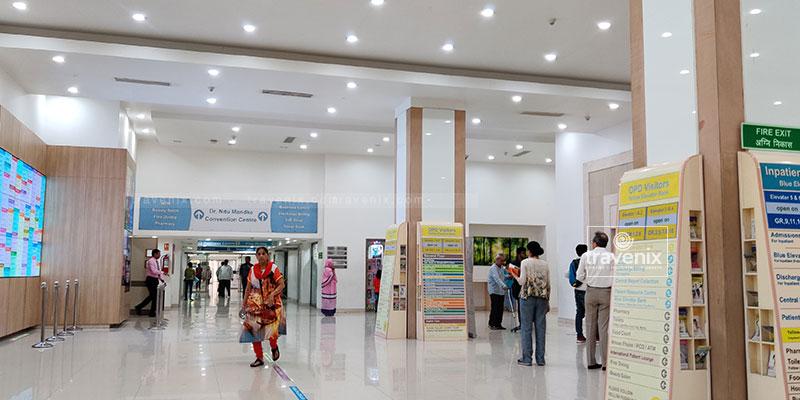 Kokilaben Dhirubhai Ambani Hospital Interior