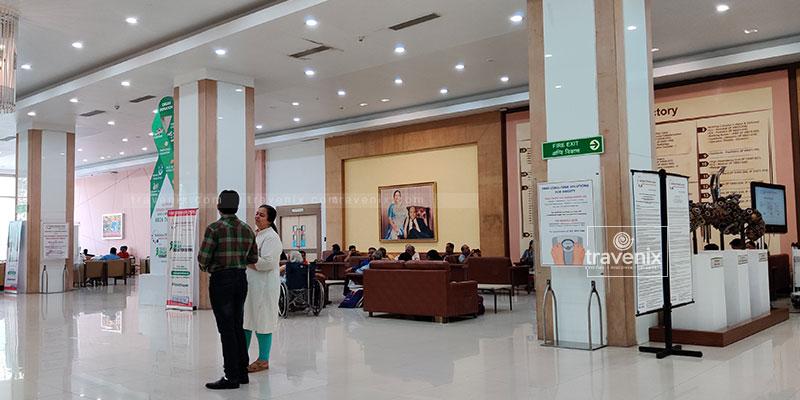 Kokilaben Dhirubhai Ambani Hospital Reception