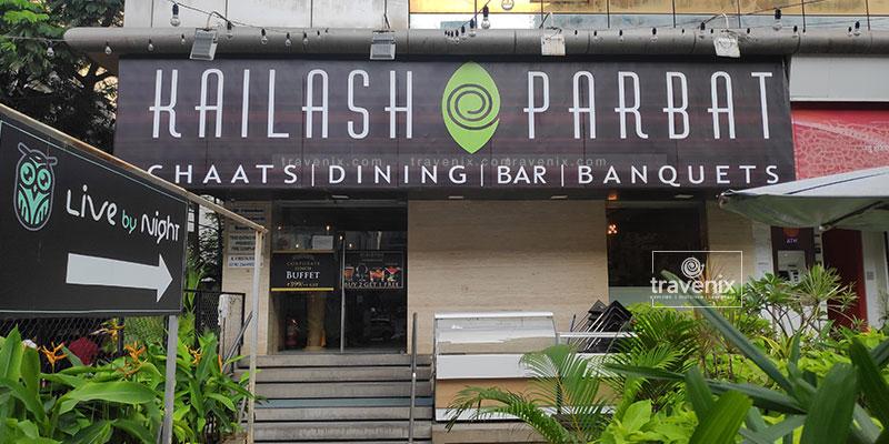 Famous Kailash Parbat Chhole Bhature Shop