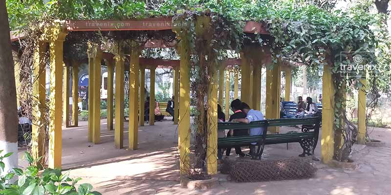B N Maheshwari Udyan Sitting Area
