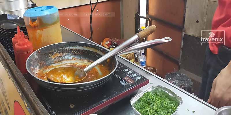 Dumpling Delights Food Truck Interior