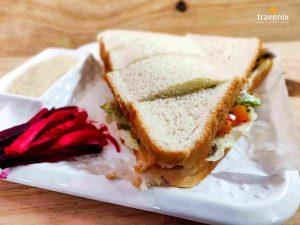 Shawarma sandwich, Veg shawarma