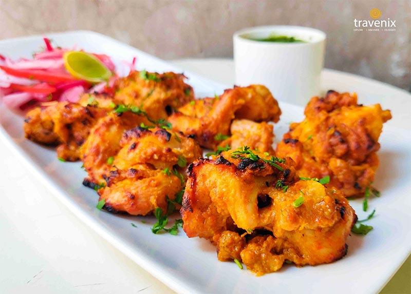 crunchy Phuljadi kebabs