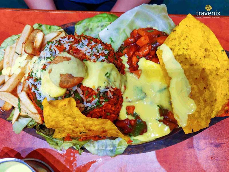 Delicious Mexicano Sizzler dish