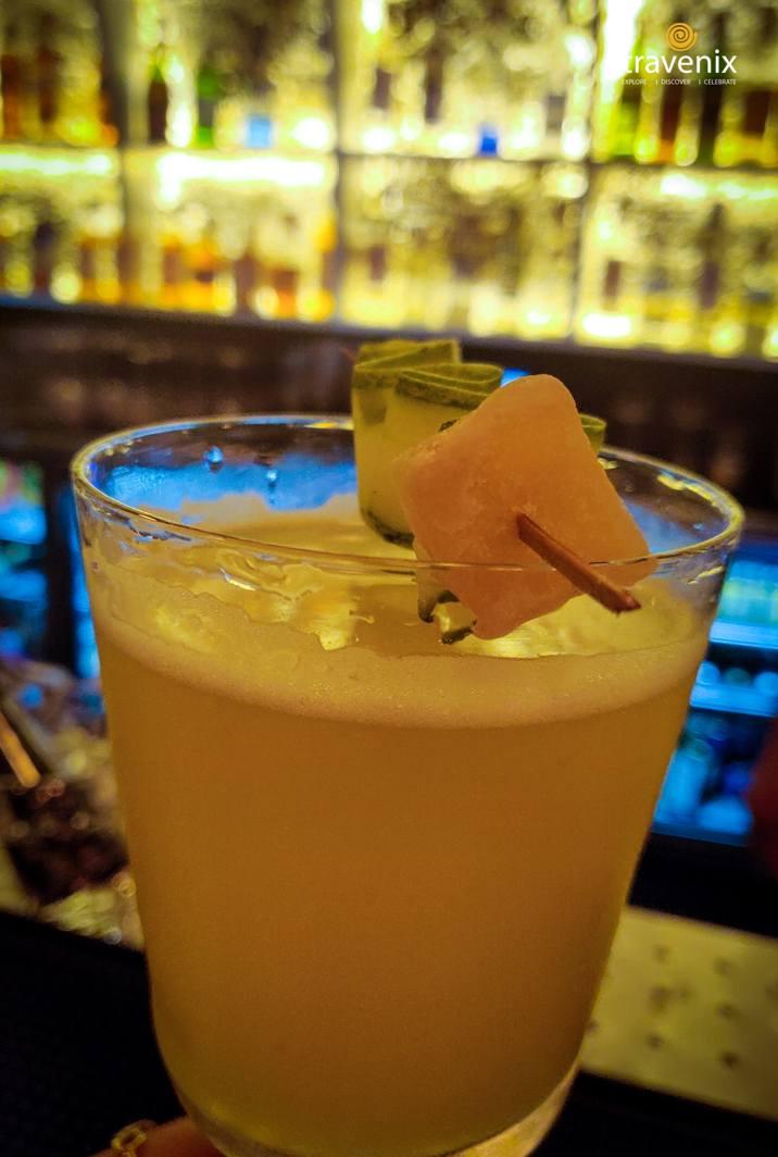 Phantasm rum based cocktail