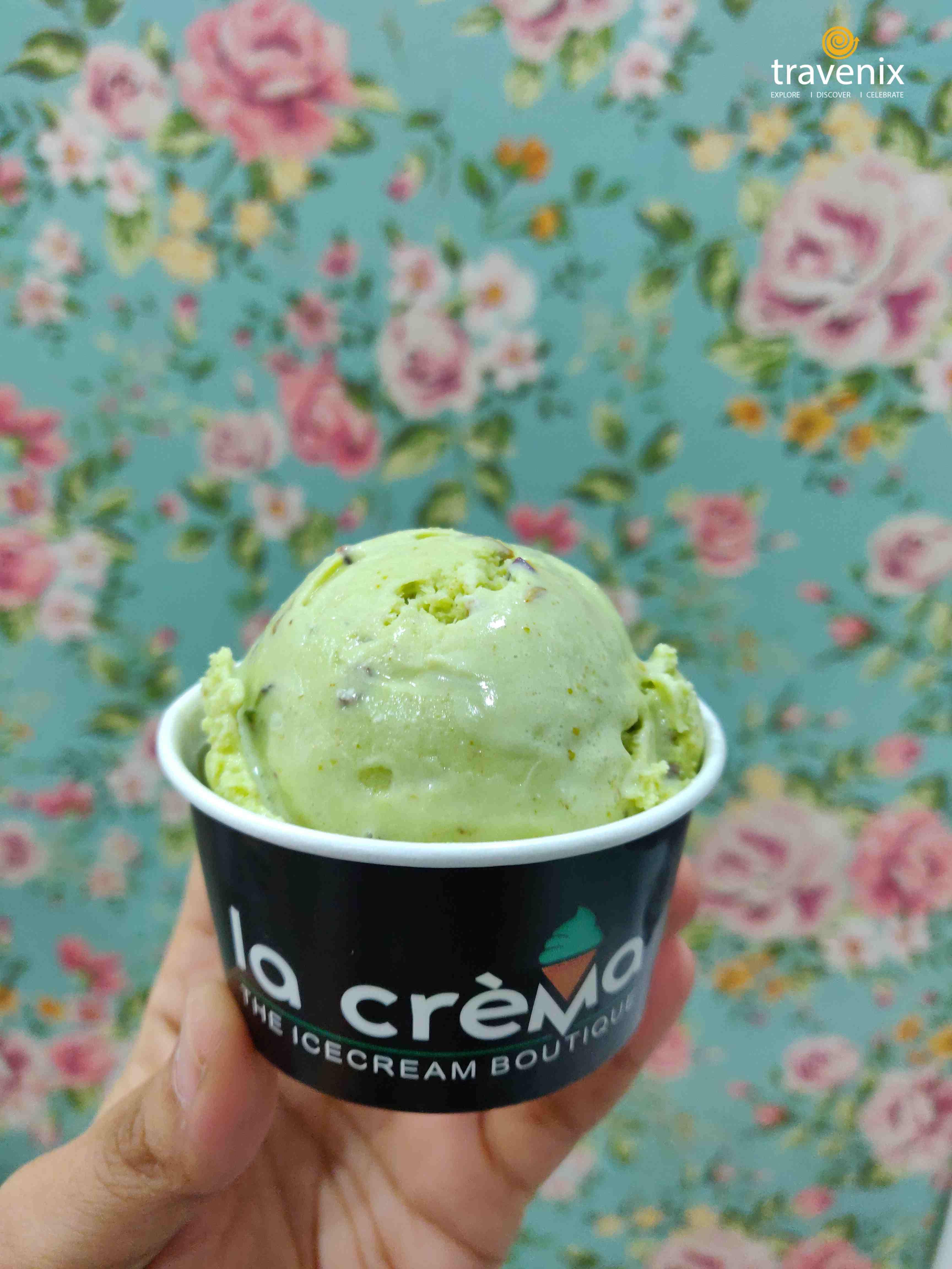Variyali Pista Ice cream