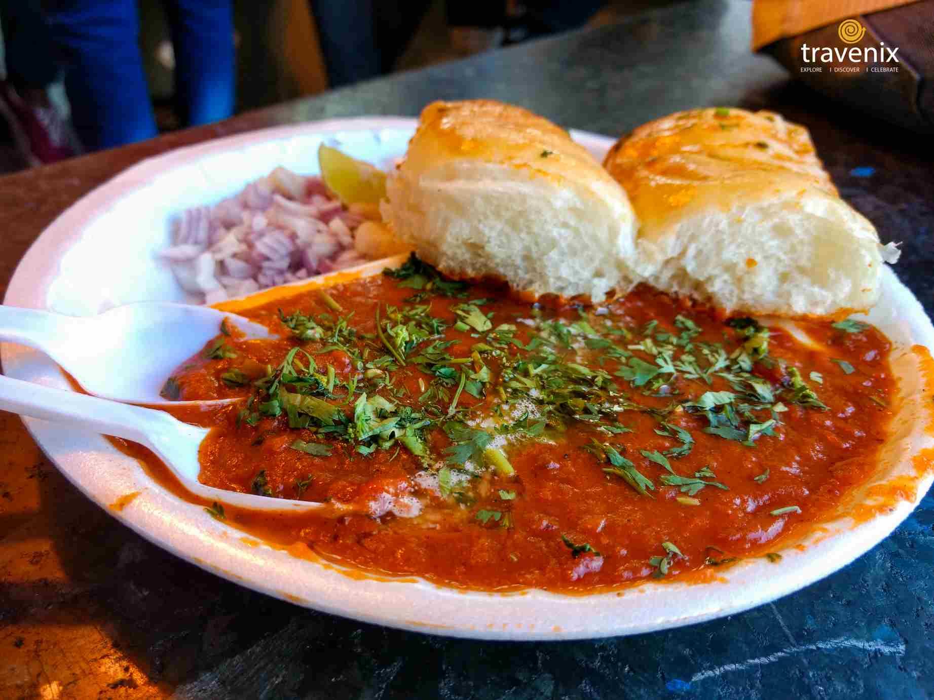 Mumbai Street Food Pav Bhaji