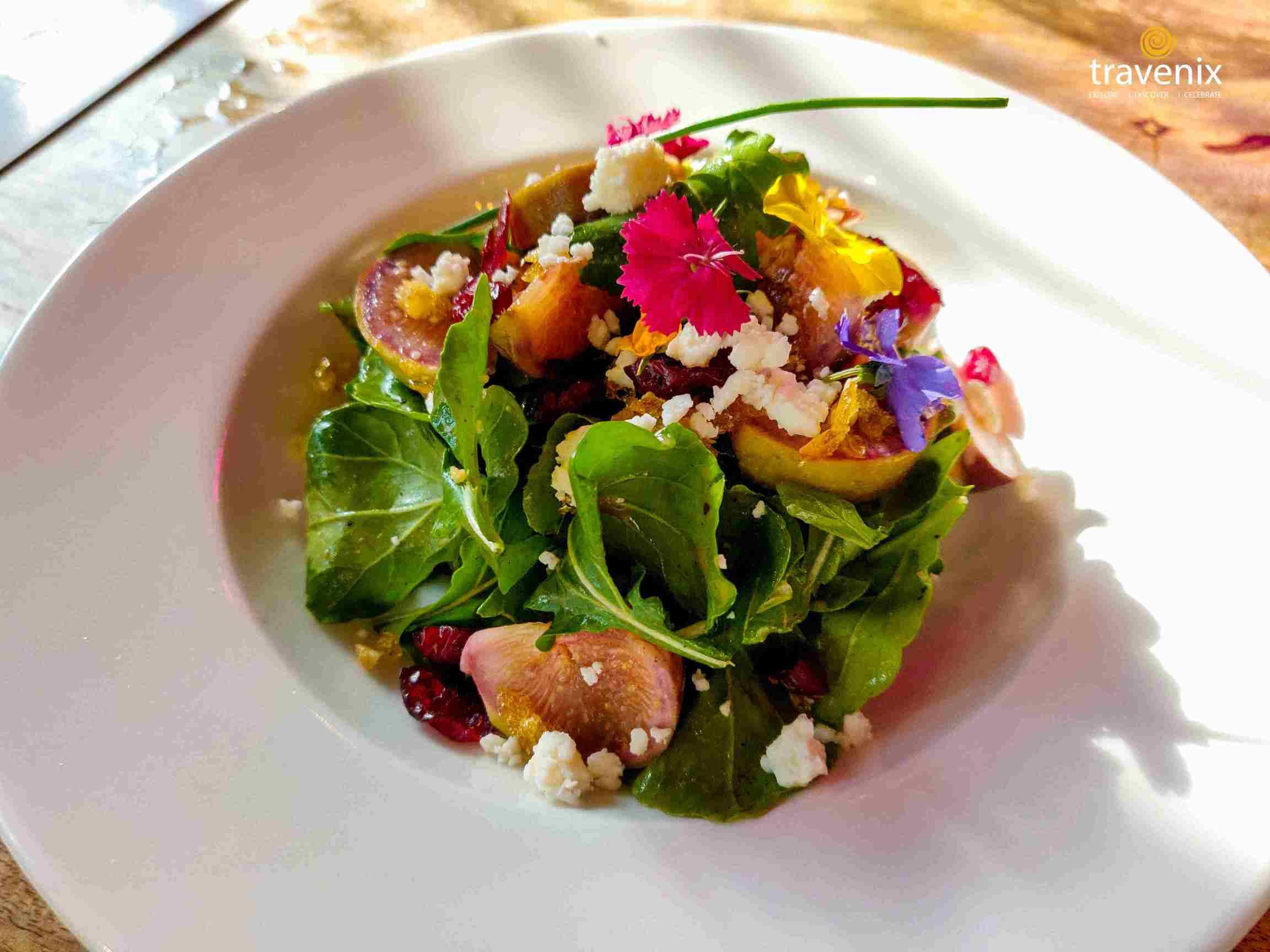 Fig and Feta Fargula Wild Salad