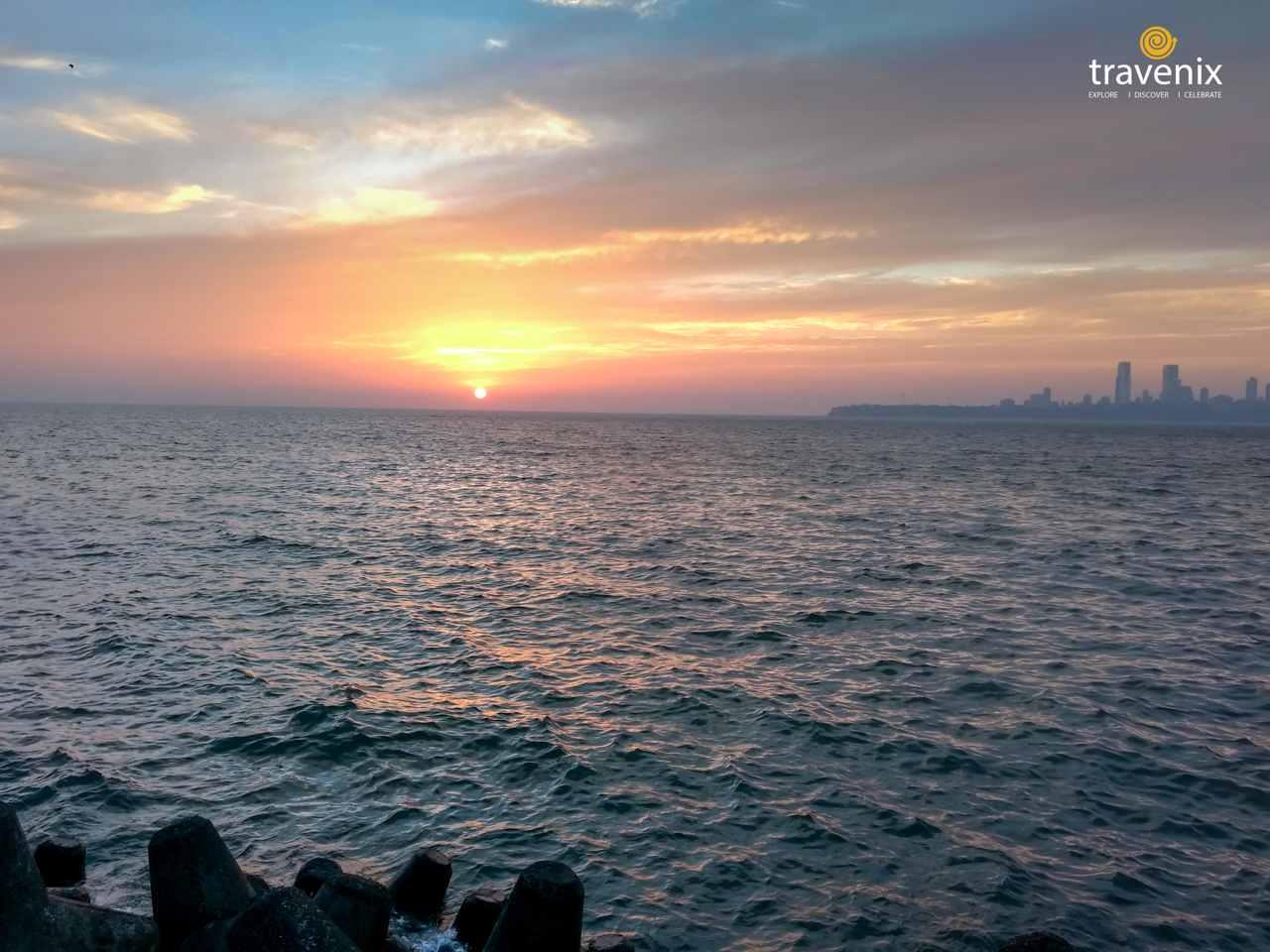 Sunset Marine Drive Mumbai