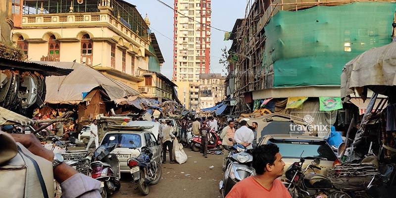 Chor Bazar Market View