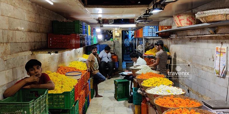 Dadar Flower Market Interior
