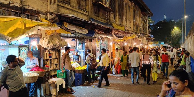 Dadar Flower Market Walkway