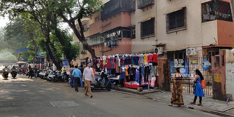 Gandhi Market Walkway