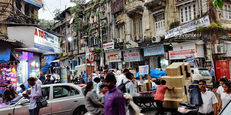Lohar Market Crowd