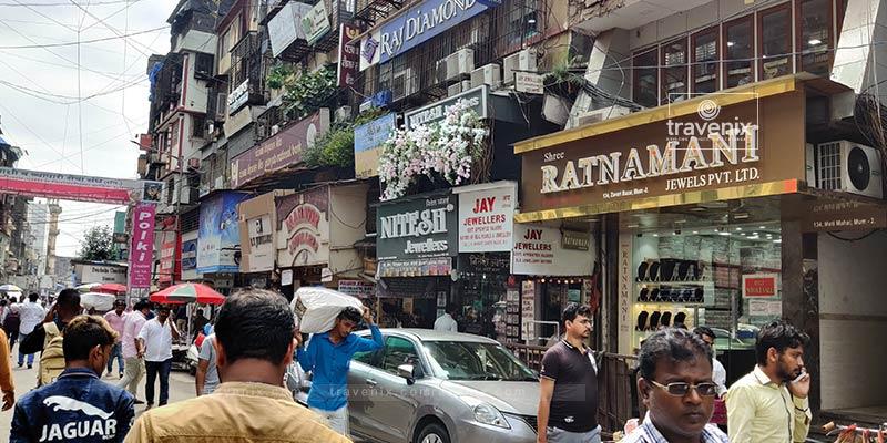 Zaveri Bazar Street View
