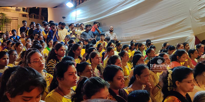 Mumbai Durga Pooja Gathering