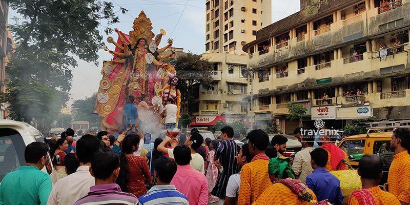 Durga Visarjan Mumbai