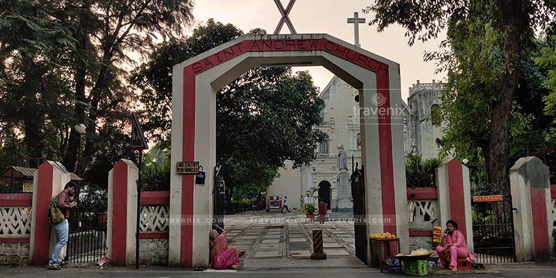 St. Andrew's Church Main Gate