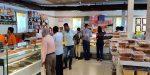 Customers at Jhama Sweets