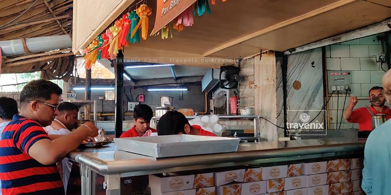 Guru Kripa Eating Area