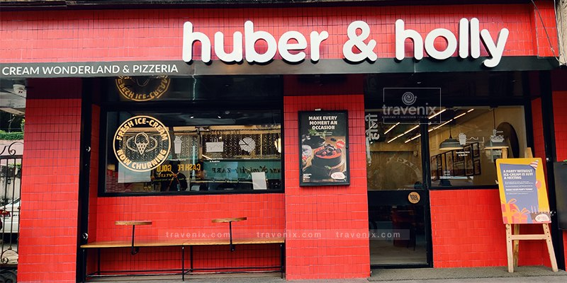 Huber and Holly Exterior