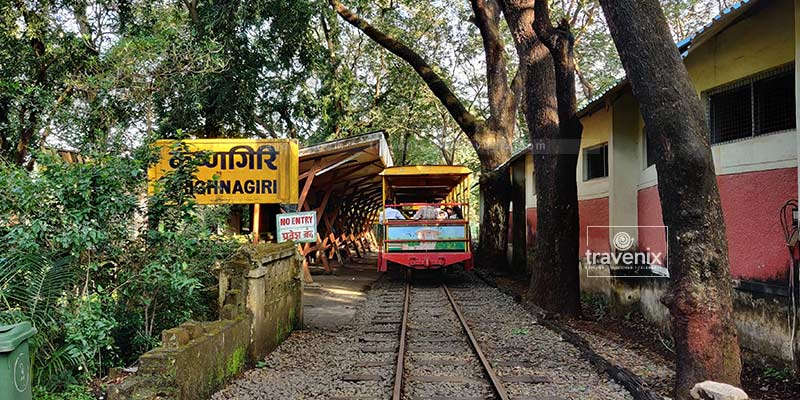 Mini Train at Sanjay Gandhi National Park