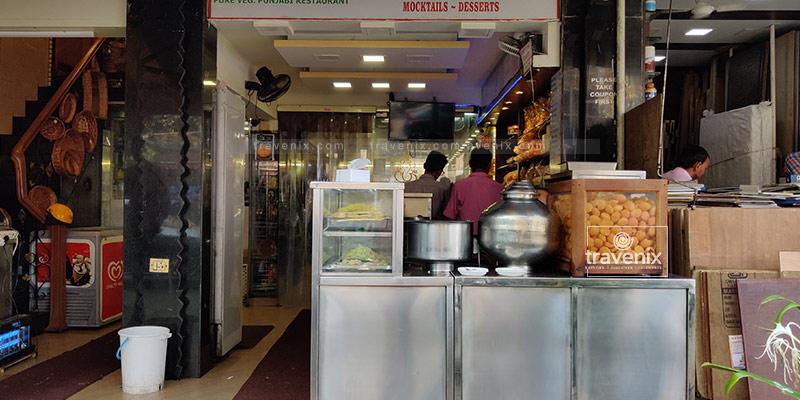 Paani Puri at Punjab Sweet House