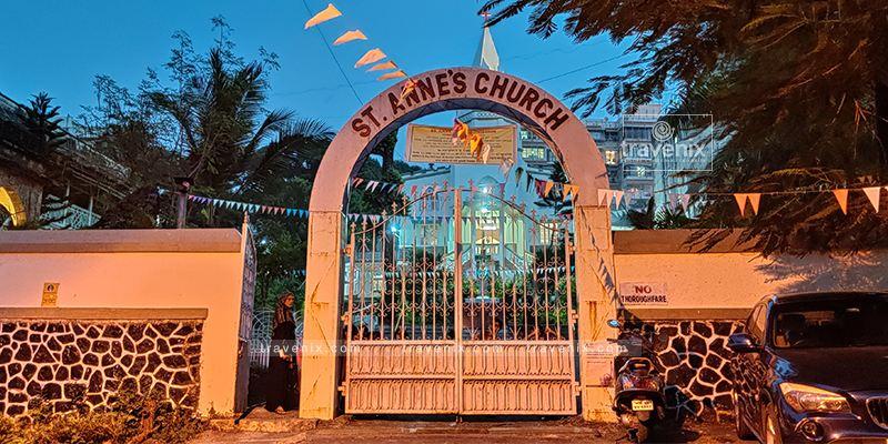 St Anne's Church Exterior