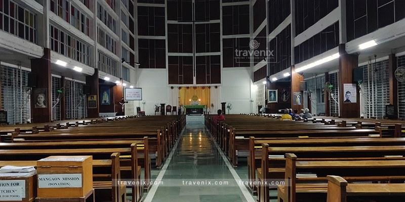 St Theresa Church Seating