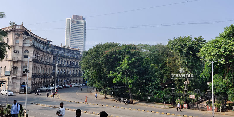 View from Asiatic Library