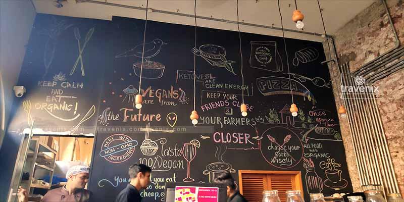 Birdsong Organic Cafe Interior