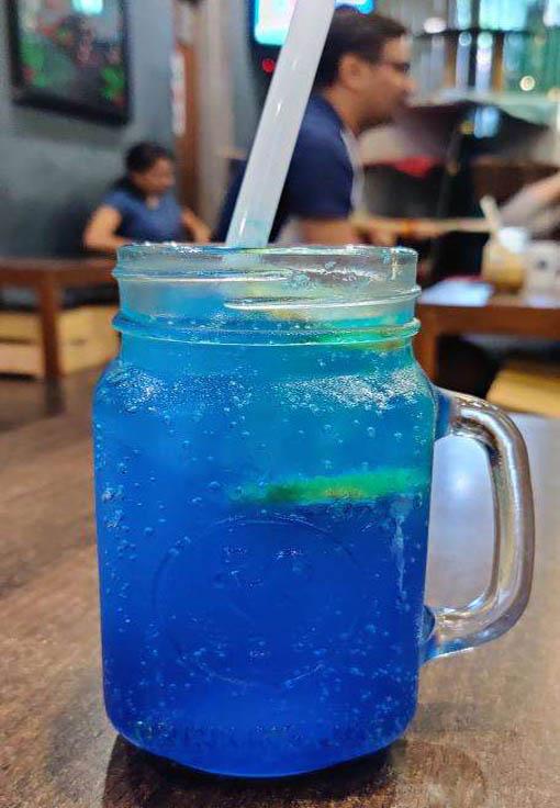 Cool Blue Lemonade at Cat Cafe Studio, Mumbai- Zomato
