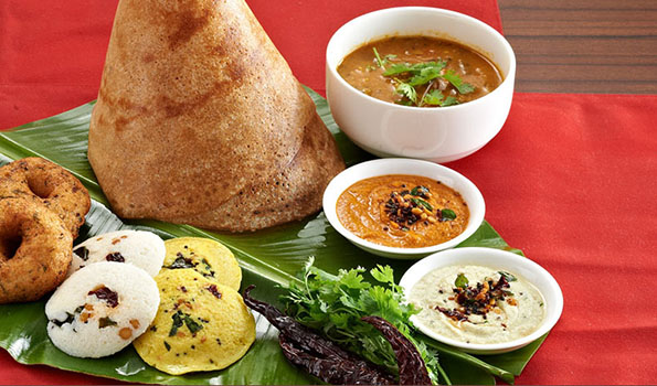 South Indian breakfast - Whatsuplife