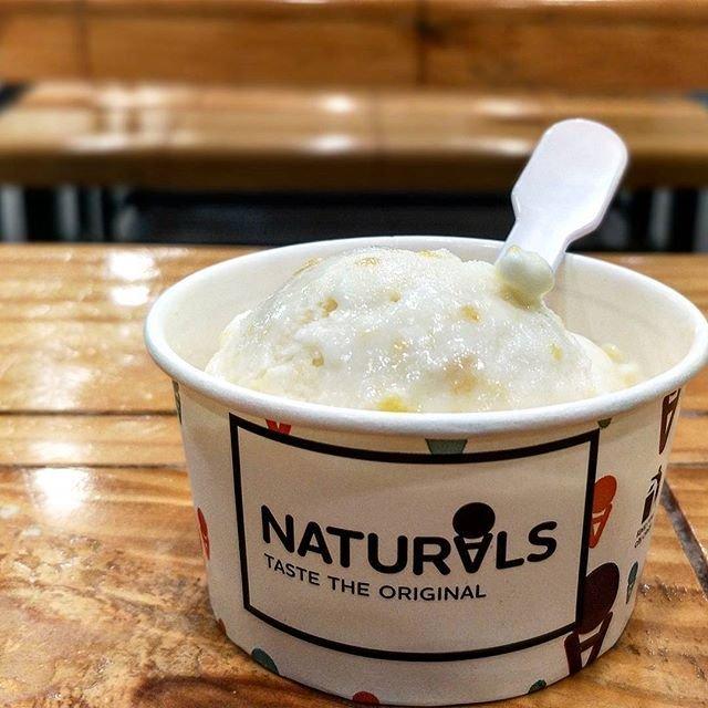 Jackfruit ice-cream from Naturals