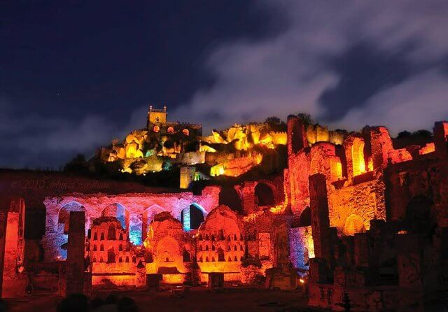 Light and Sound Show at Golconda Fort