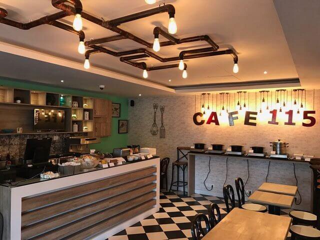 Cafe 115 , Oakwood Residence Kapil Hyderabad