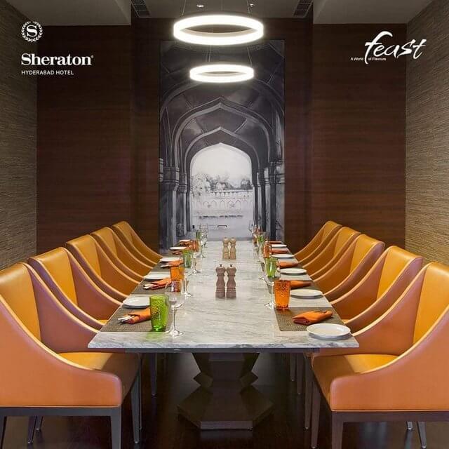 Feast, Sheraton Hyderabad